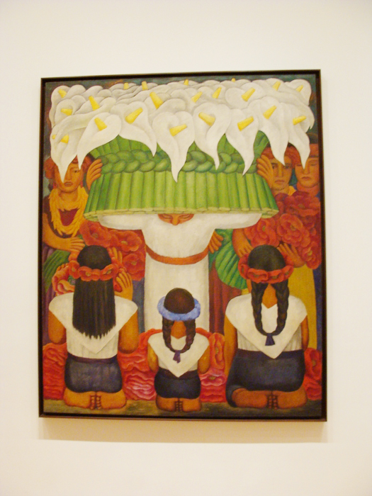 Diego Rivera en el MOMA