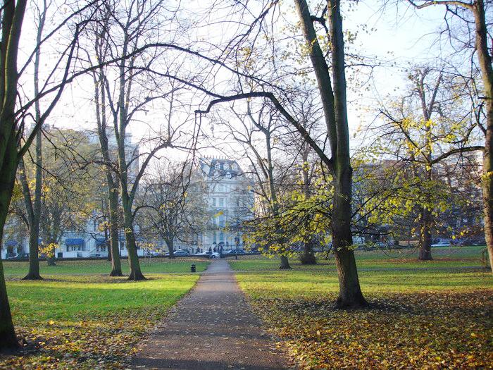 Kensington Gardens en Londres