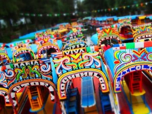Soñando con…los canales de Xochimilco en México DF/Dreaming of…the canals of Xochimilco in Mexico City