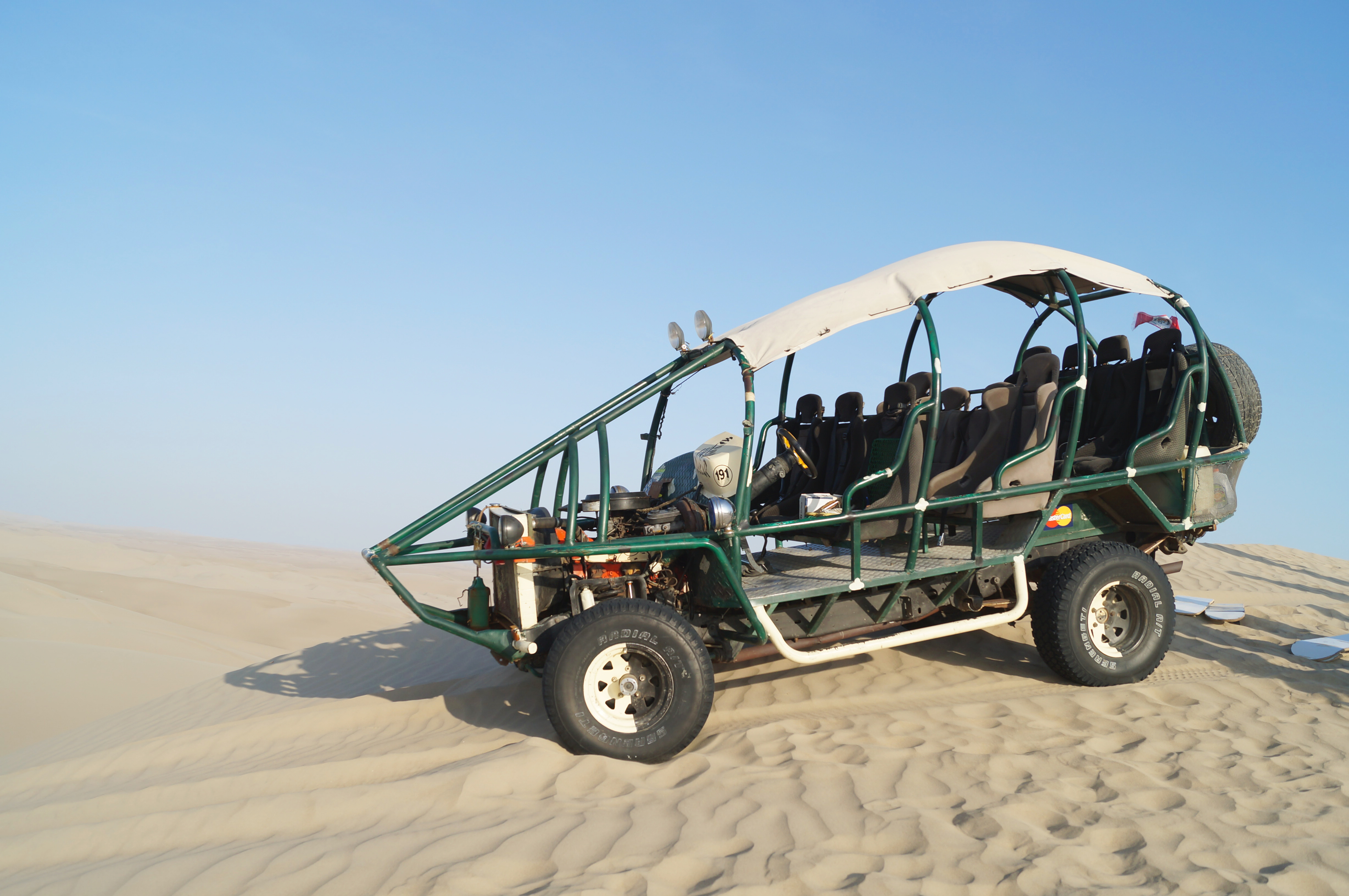 Sandboarding en Paracas I