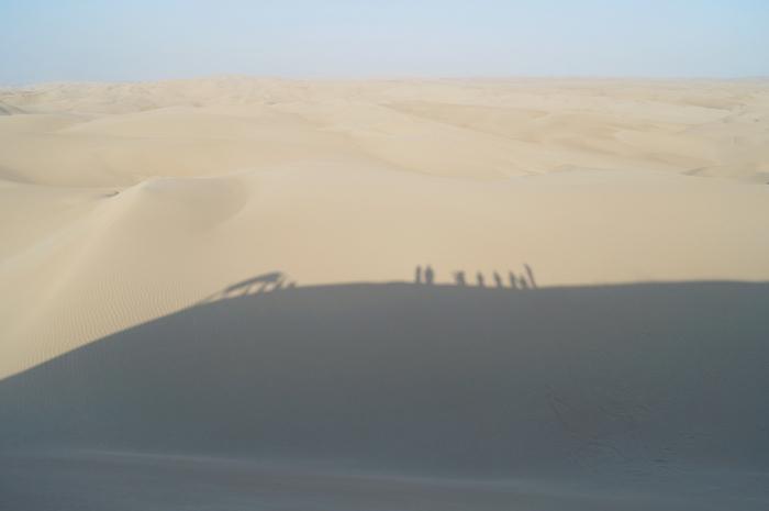 Sandboarding en Paracas II