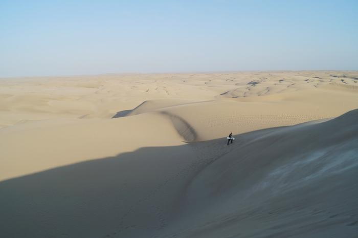 Sandboarding en Paracas V