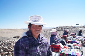 Mujer Kollawa en la región del Colca en Perú/ A Kollawa woman in the Colca region in Peru