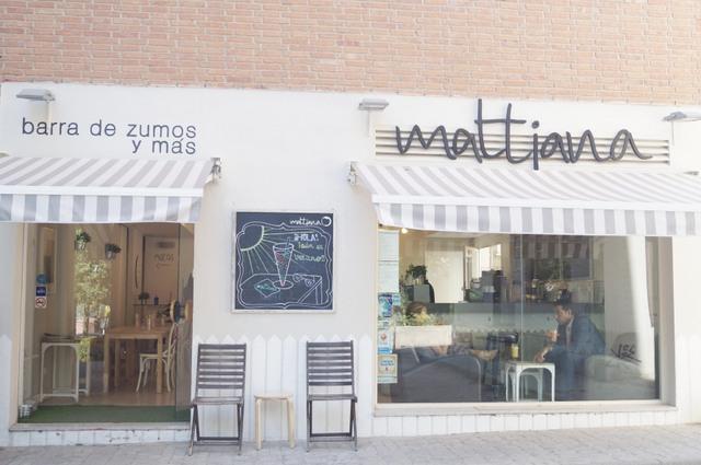 Mattiana en Madrid: la comida rápida más sana/Mattiana in Madrid: the healthiest fast food