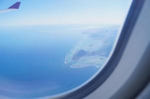 Mauricio desde el cielo: una postal/Mauritius from the sky: a postcard