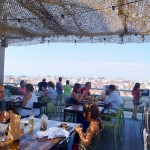Tartân Roof en Madrid: un restaurante pop-up en las alturas/Tartân Roof in Madrid: a pop-up rooftop restaurant
