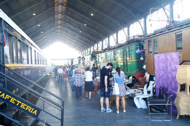 El Mercado de Motores toma el Museo del Ferrocarril en Madrid/The Motor Market takes the Railway Museum in Madrid