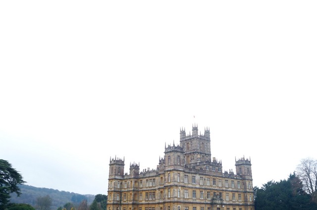 Turismo aristocrático: Una visita a Downton Abbey/Aristocratic tourism: A visit to Downton Abbey