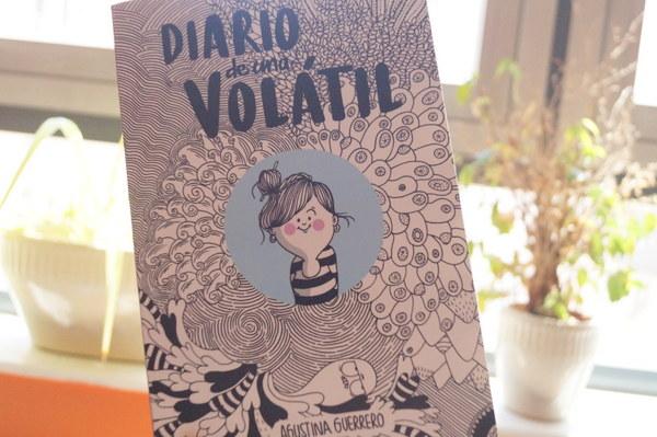 «Diario de una volátil» de Agustina Guerrero: un libro lleno de humor y ternura que podría ser perfectamente tu diario personal
