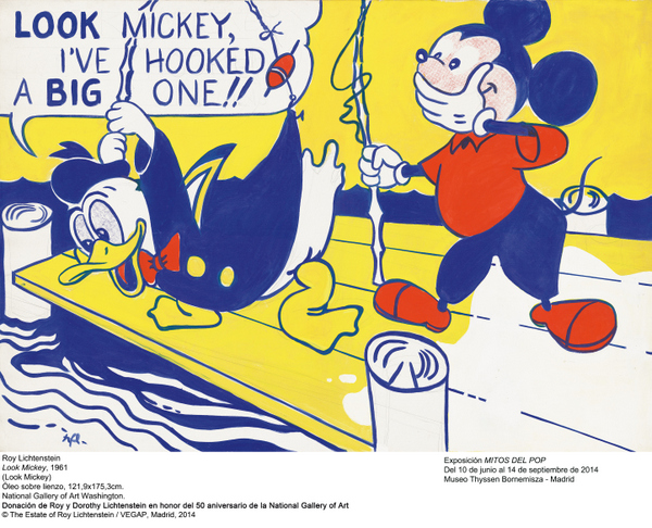 Lichtenstein_Mickey