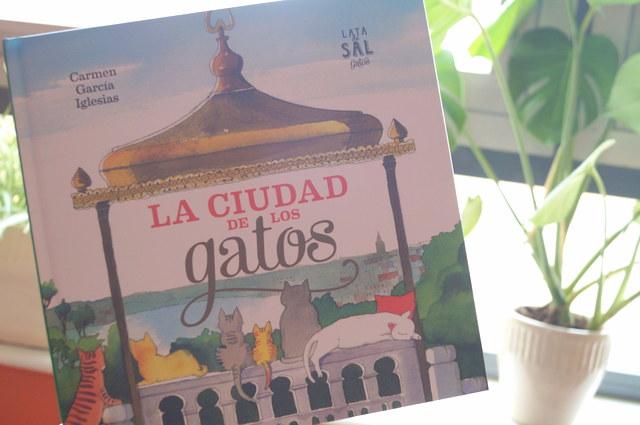 """""""La ciudad de los gatos"""" de Carmen García Iglesias o Estambul según la editorial Lata de Sal"""