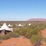 Una habitación con vistas en Longitude 131º, Uluru, Australia/A room with a view in Longitude 131º, Uluru, Australia