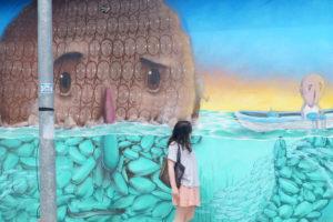Graffitis en Playa del Carmen, México/Graffitis in Playa del Carmen, Mexico